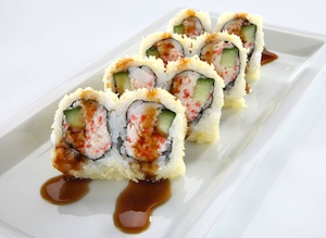 The Tootsy Maki roll at RA Sushi
