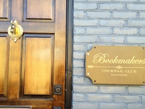 Bookmakers Cocktail Club in Federal Hill