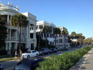 Manses along Battery Row in Charleston