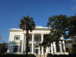 Big old manse along the Battery in Charleston