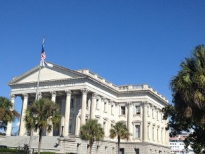 The U.S. Custom House in Charleston