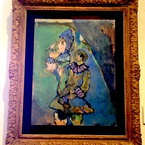 "Marc Chagall's ""Girl with a Bird"" at the City Museum in Zagreb"