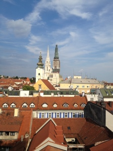 Fairytale architecture in the city of Zagreb