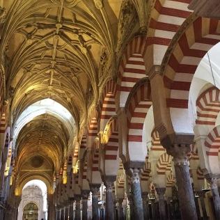 The magnificent Mezquita de Cordoba -- a church within a mosque