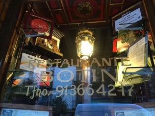Restaurante Sobrino de Botin in Madrid - one of the oldest restaurants in the world