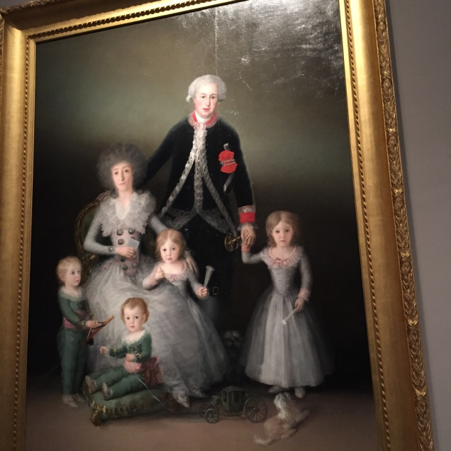Goya painting at the Prado